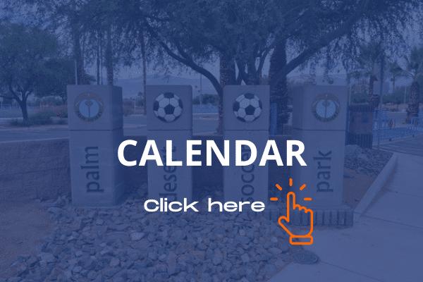 Palm Desert recreational soccer calendar