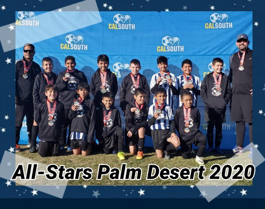 U12_All_Stars 2020 Palm Desert recreational soccer