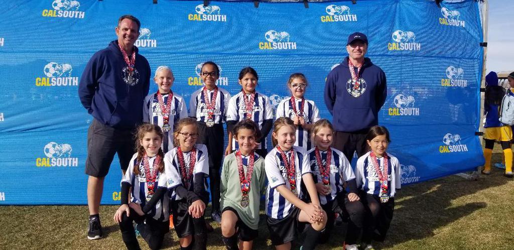Palm Desert recreational soccer all stars Girls