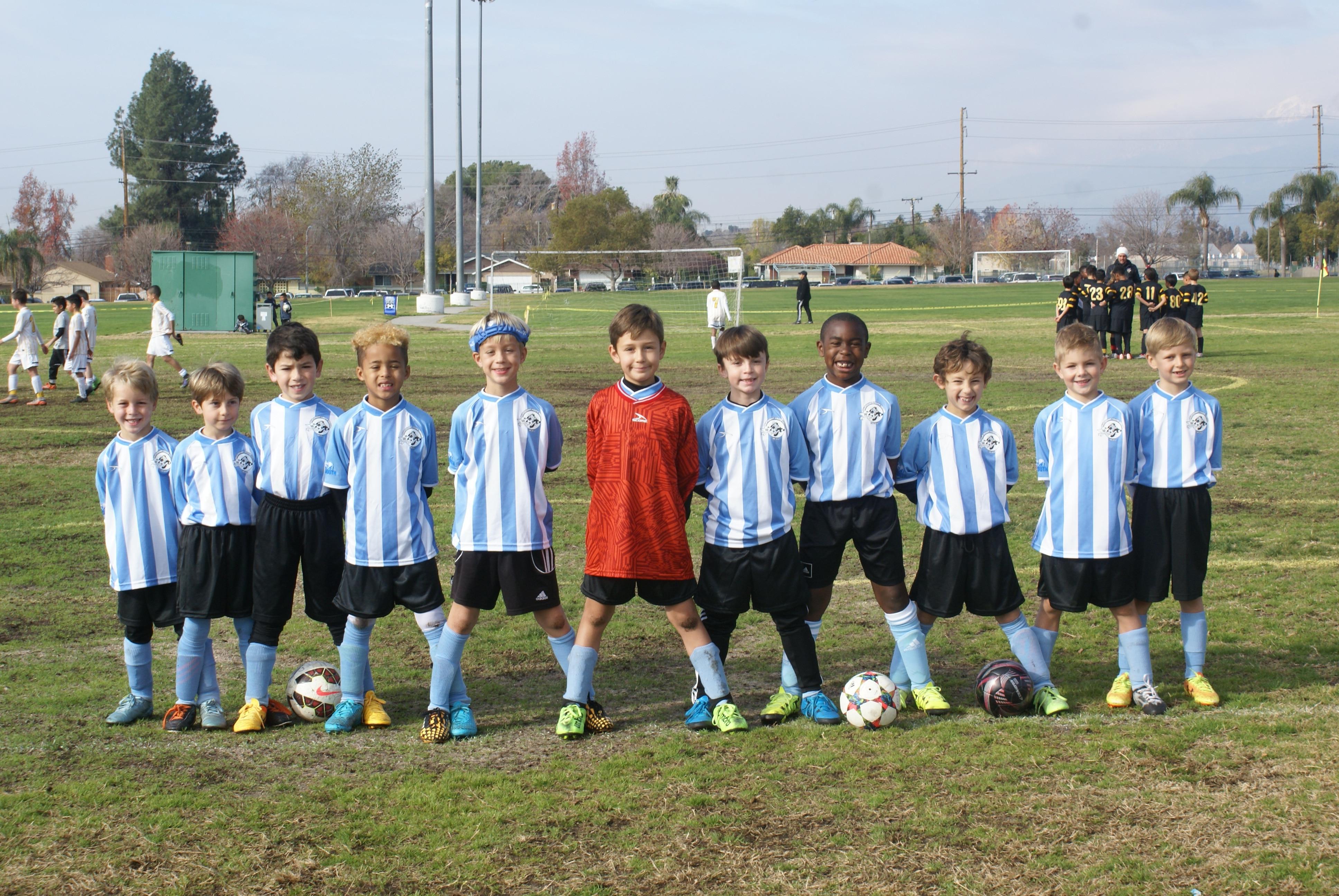 Boys all stars Palm Desert recreational soccer