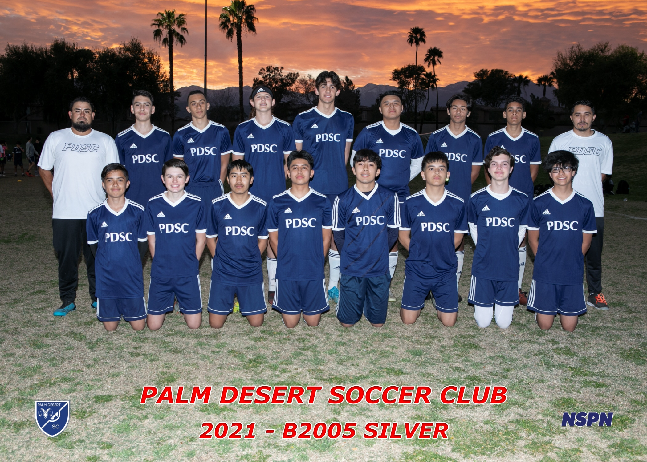 Palm Desert Soccer Club B2005 Silver