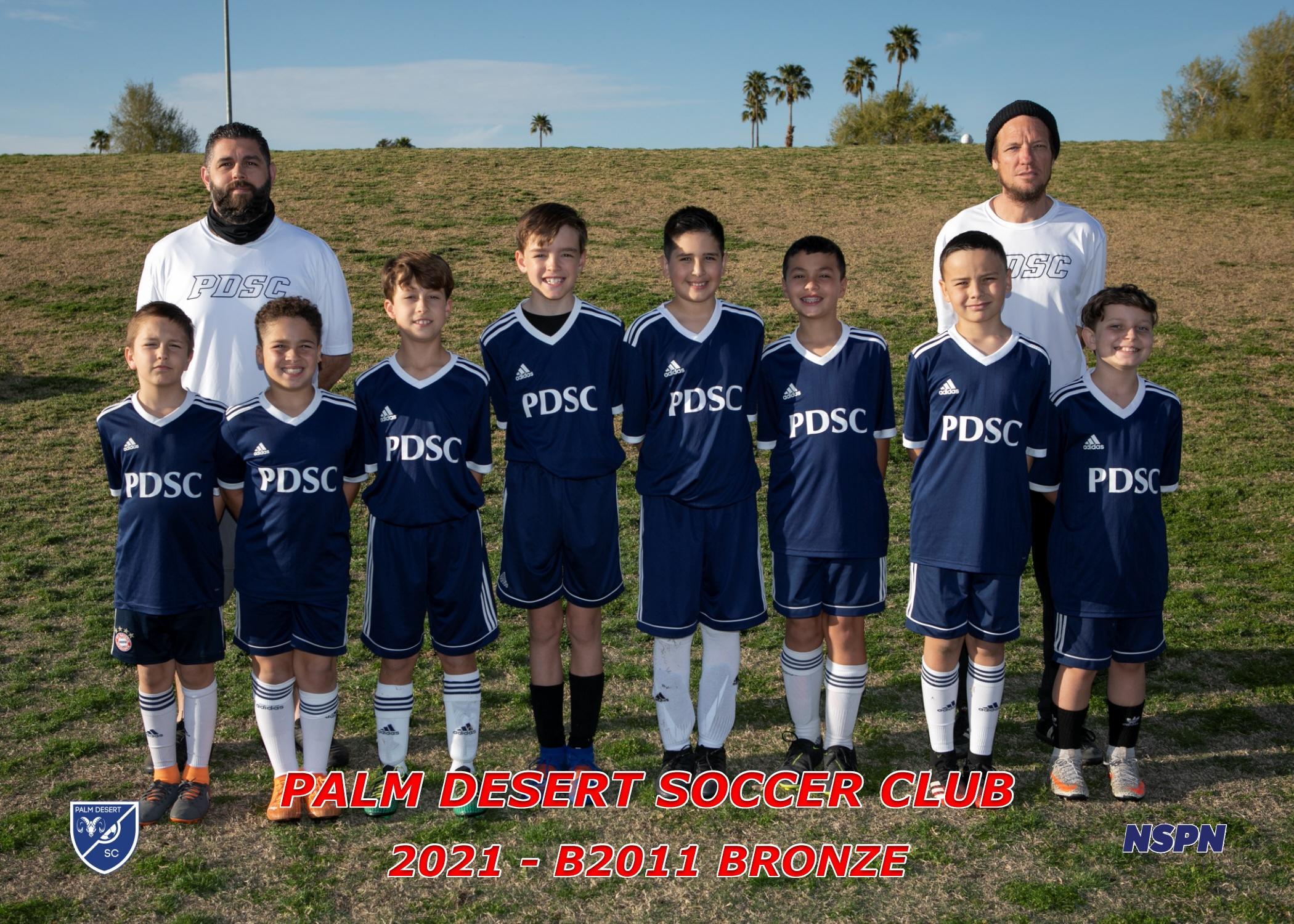 Palm Desert Soccer Club B2011 Bronze