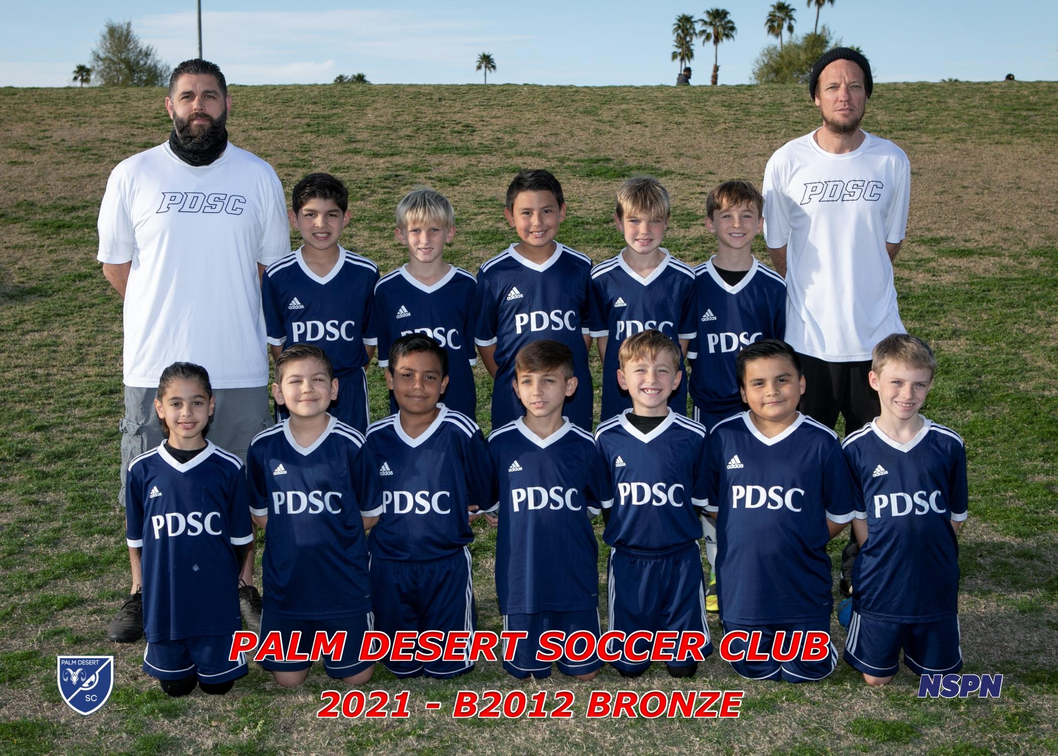 Palm Desert Soccer Club B2012 Bronze