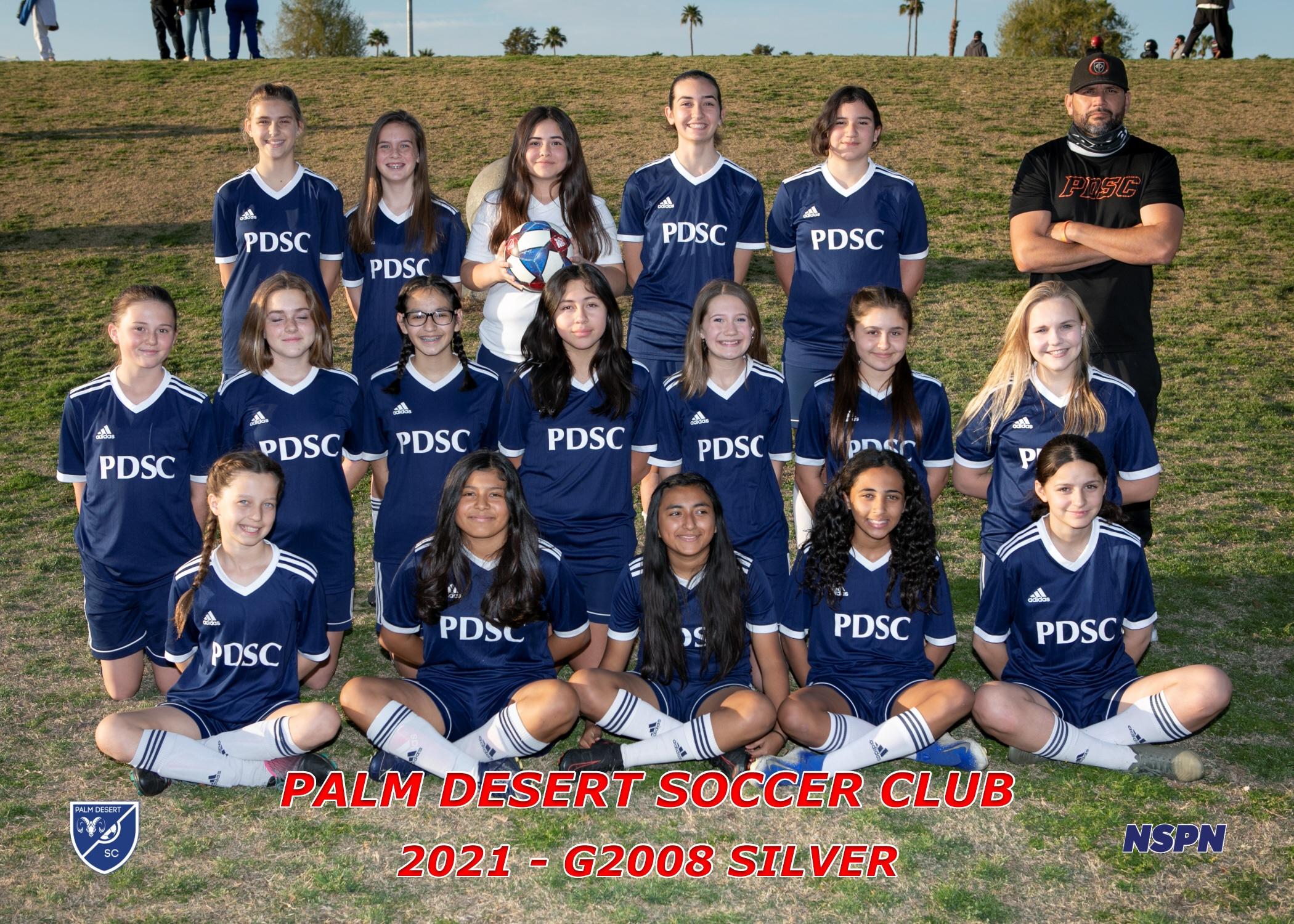 Palm Desert Soccer Club G2008 Silver