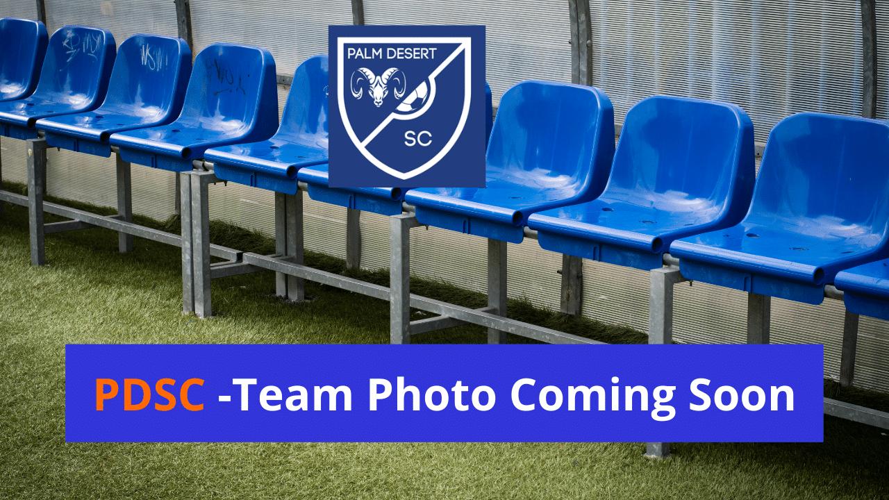 Team Photo Coming Soon Palm Desert Soccer Club