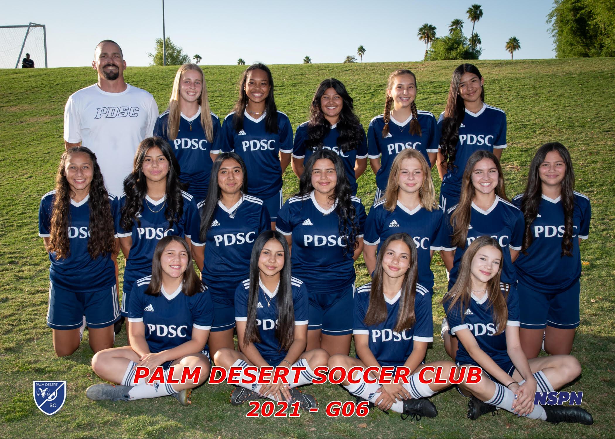Palm Desert Soccer Club G2006 Elite