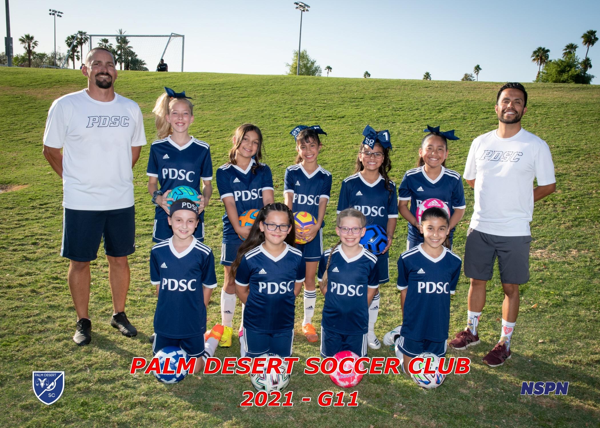 Palm Desert Soccer Club G2011 Bronze